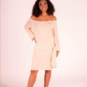 EUC DVF Blush Cashmere Sweater Dress Size M